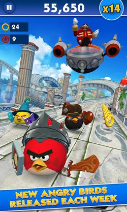 Sonic Dash Angry Birds 2
