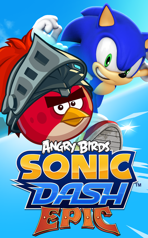 Angry Birds has taken over Sonic Dash