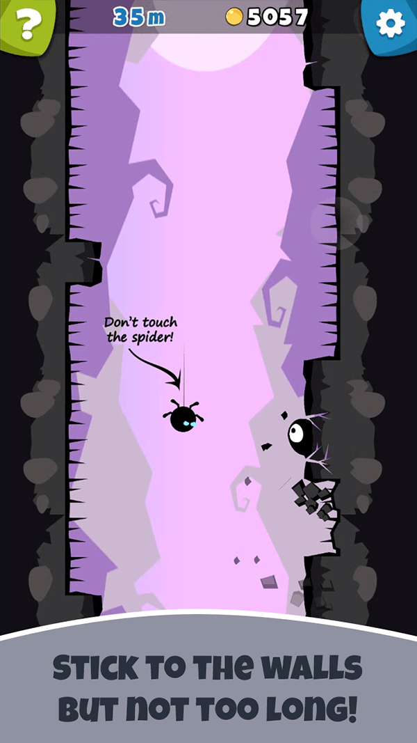 Sticky Goo –  challenging & twisted vertical jumping game