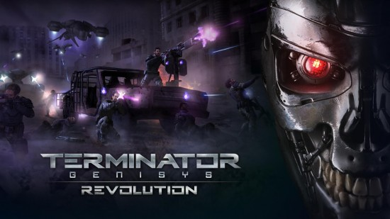 Terminator Genisys: Revolution – action-packed sci-fi shooter game