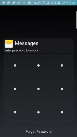 BisMag Apps Locker - Lock Activated