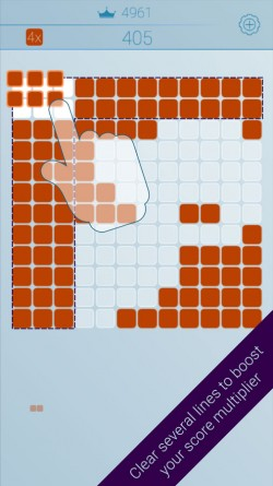 Block Tile Puzzle - 5 Lines Combo