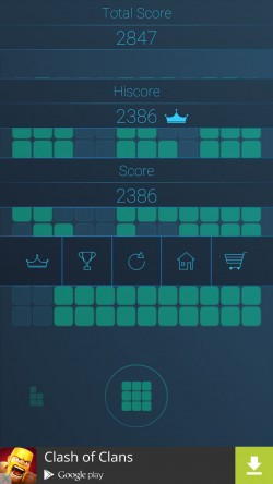 Block Tile Puzzle - Game Over Scoring