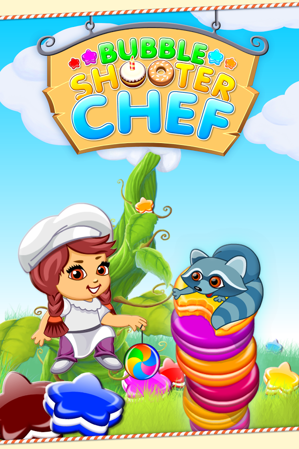 Bubble Shooter Chef