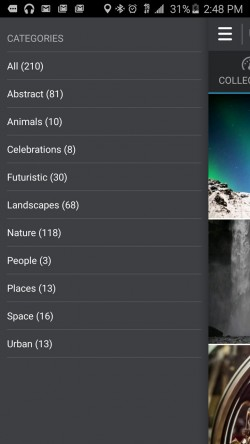 Ultra HD Video Live Wallpapers - Categories