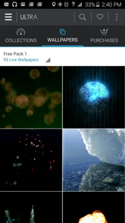 Ultra HD Video Live Wallpapers - Free Pack