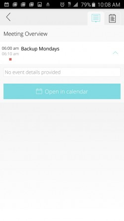 Esna Agenda - Details View