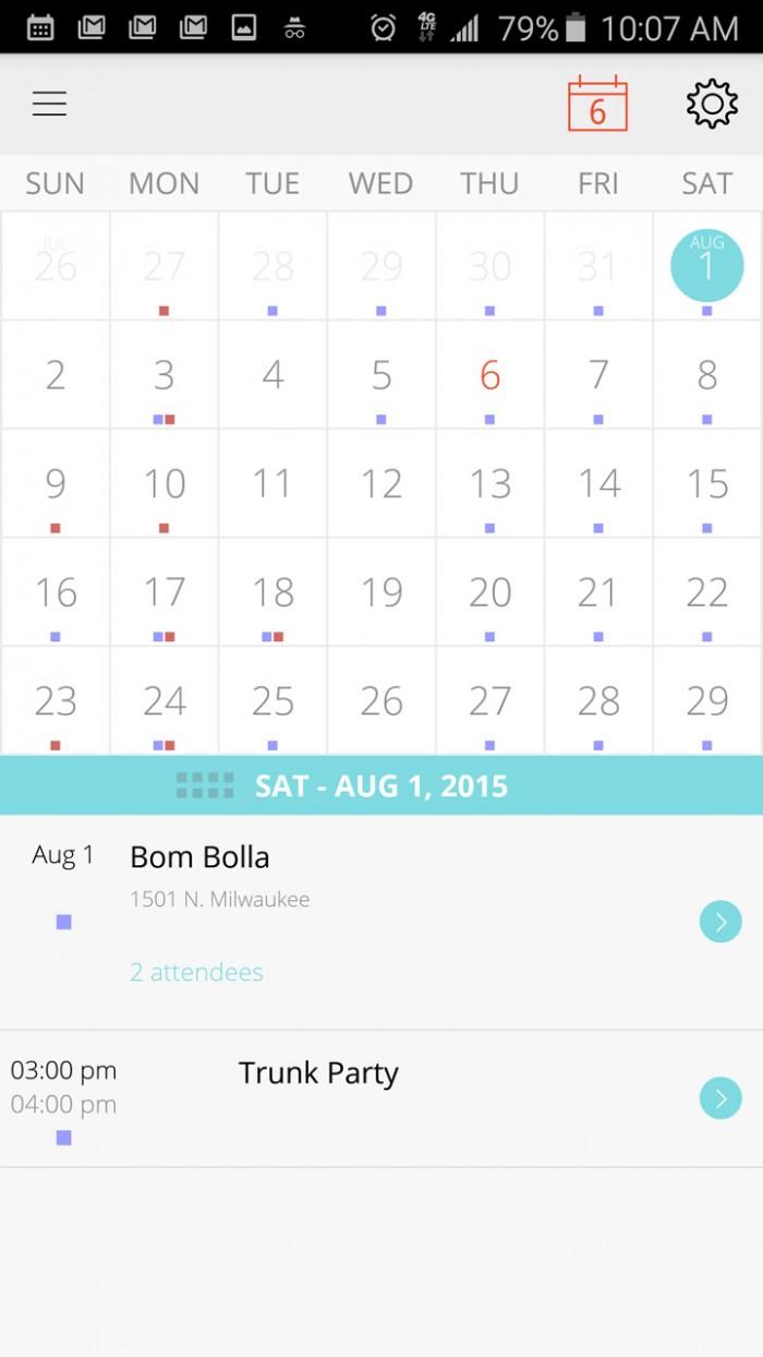 Esna Agenda – your calendar agenda simplified