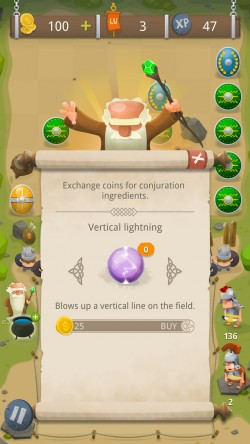 GALLIA Rise of Clans - Exchange Coins for Power-ups