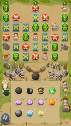 GALLIA Rise of Clans - Power-ups