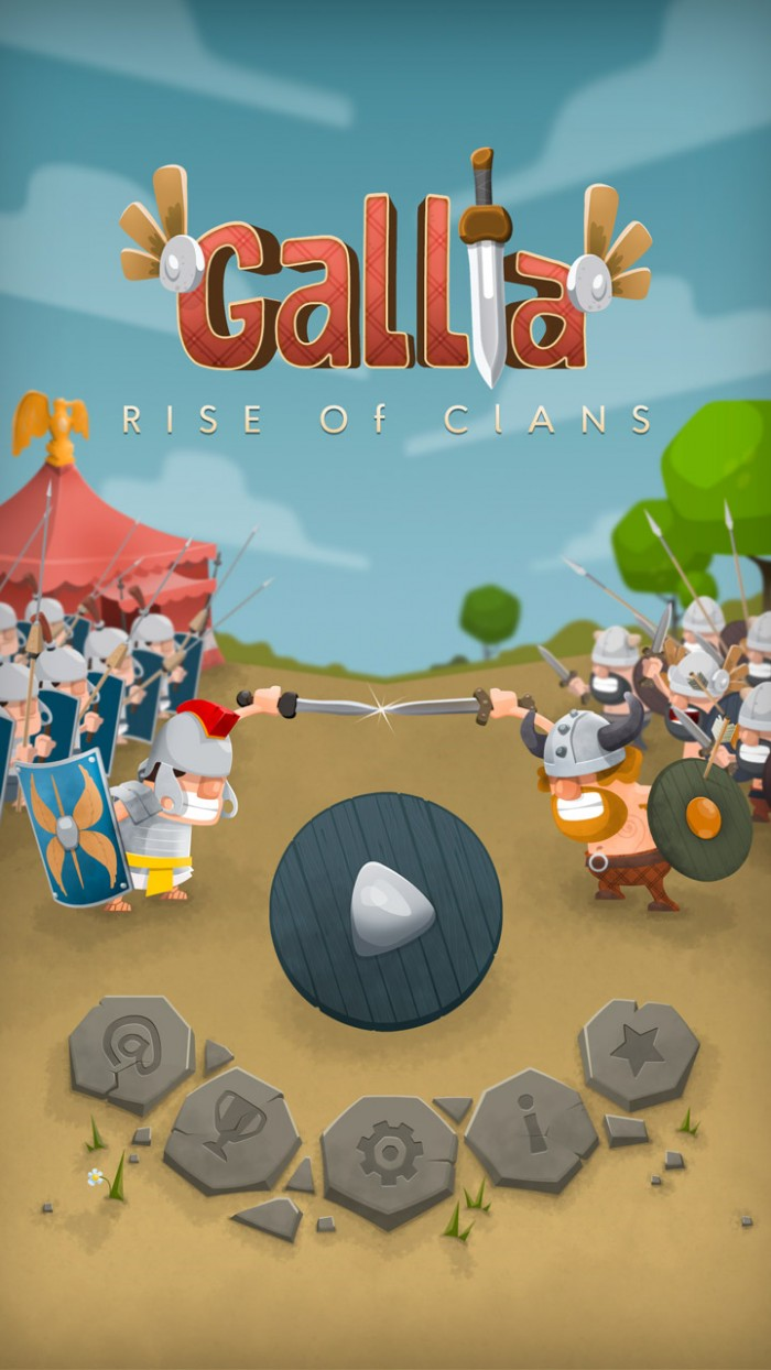 GALLIA Rise of Clans – addictive match 3, bubble shooter & catapult game