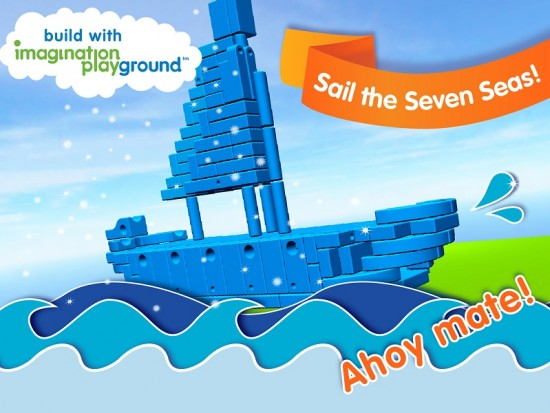 Imagination Playground 3D builder app for children