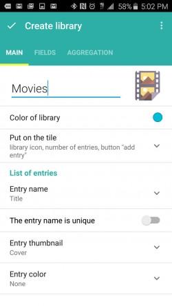 Memento Database - Create Library
