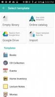 Memento Database - Select Templates