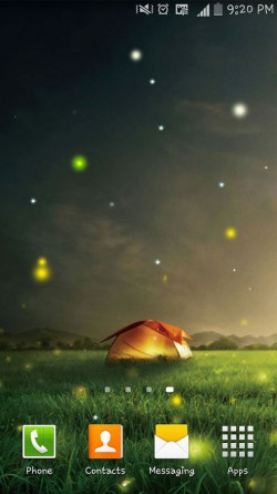 Nature Fireflies LiveWallpaper (2)