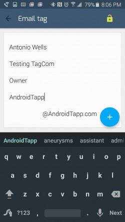 TagCom - Create Email Tag