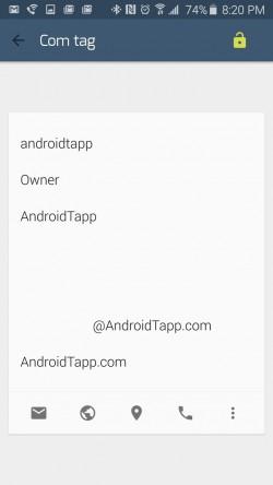 TagCom - Create Profile