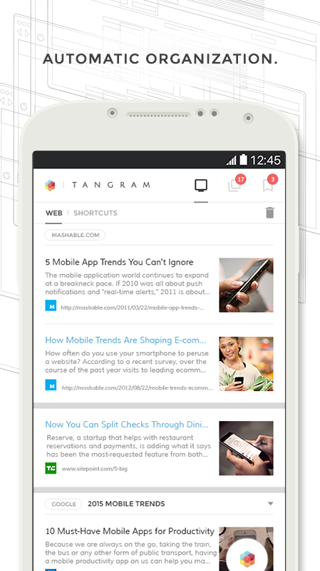 Tangram: Productivity Browser