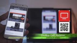 YouMap Cast Receiver - Chromecast Screen Mirroring