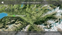 Aerofly 1 Flight Simulator - Choose Starting Location