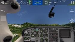 Aerofly 1 Flight Simulator - Cockpit View 1