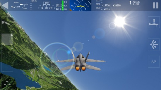 Aerofly 1 Flight Simulator – impressive realistic 3D flight control