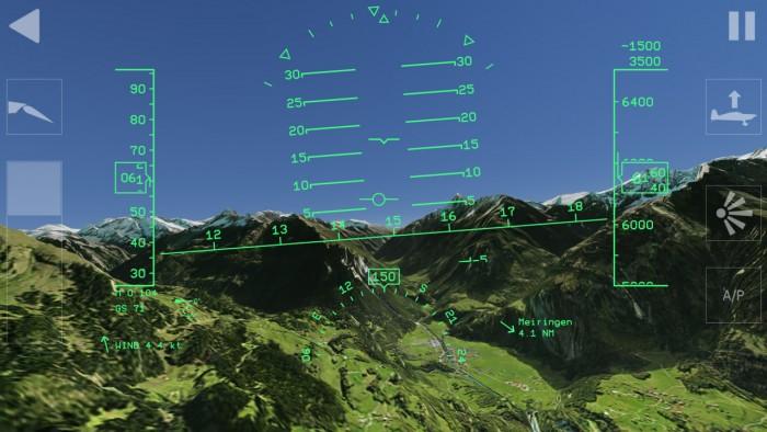 Aerofly 1 Flight Simulator - Instruments View