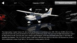 Aerofly 1 Flight Simulator - Plane Selection