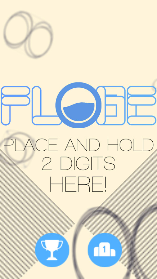 FLOBE – unique abstract multi-touch mobile game