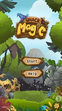 Whack Magic - Start Screen
