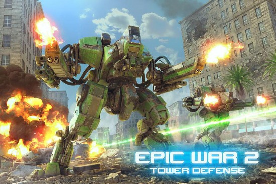 Epic War TD 2 – sequel to the legendary tower defense game