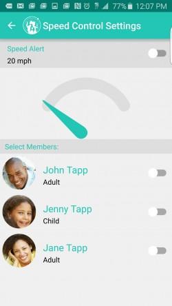 Family Orbit - Speed Alerts