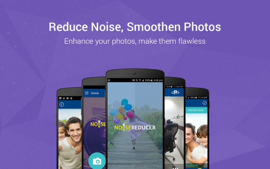 Photo Noise Reducer Pro – beautify photos by removing noise
