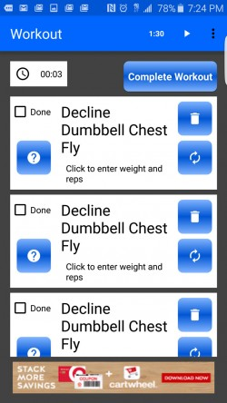 Random Workout Generator - Duplicate Workouts