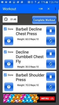 Random Workout Generator - Workouts