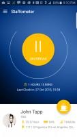 Staffometer - On Break