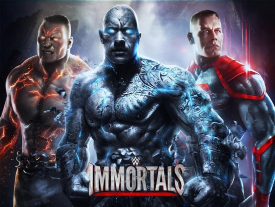 WWE Immortals – intense 3D fighting game