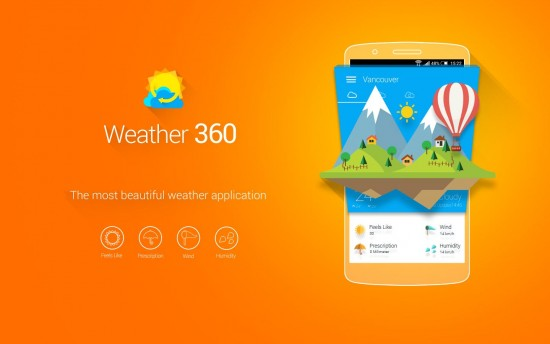 Weather 360: Forecast & Widget