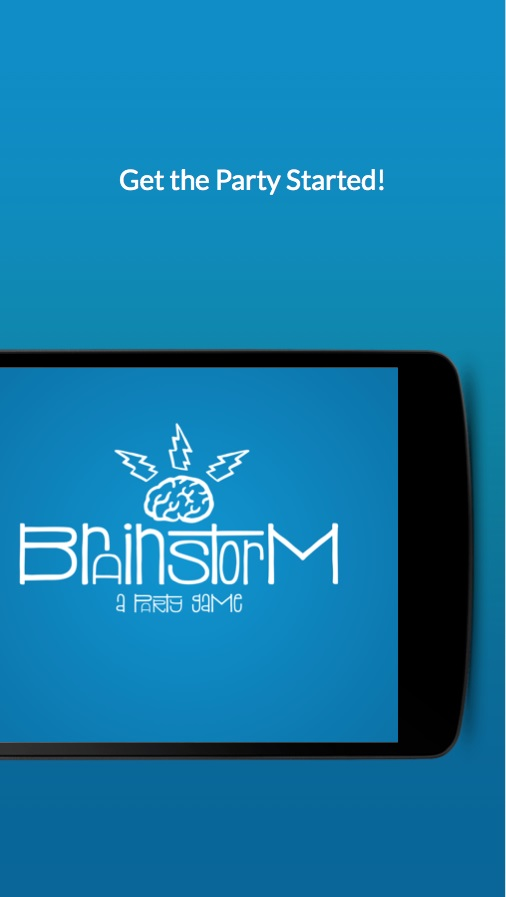 Brainstorm – a party game