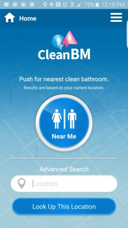 CleanBM - Find Nearest Bathroom