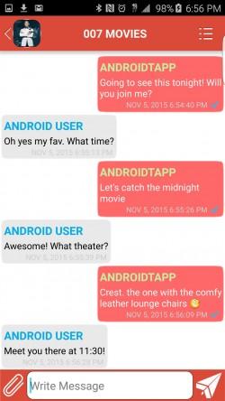 Lang BridgeApp - Huddle Group Messaging