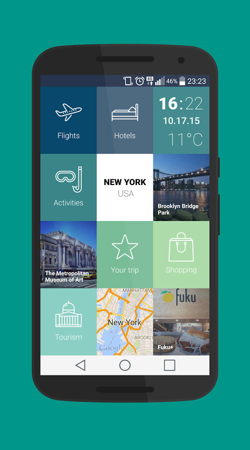 Vacation Planning – app to help plan your next vacation