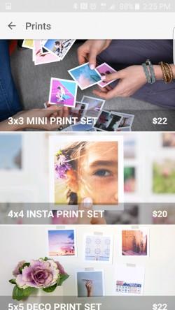 Impressed - Print Options