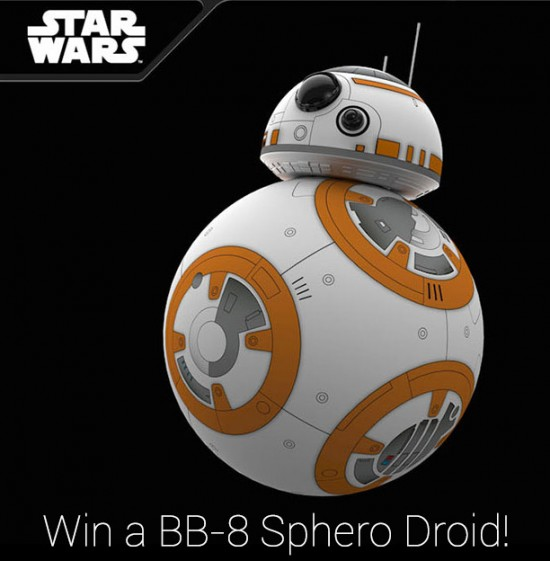(Giveaway) Star Wars collectible BB-8 Sphero Droid