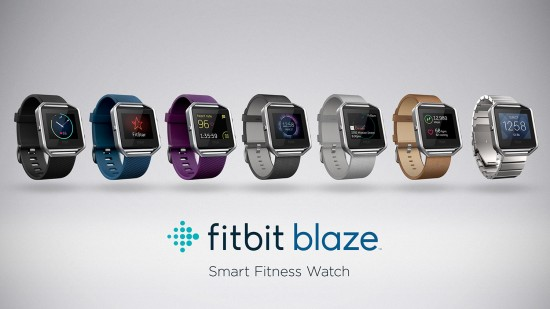 Introducing Fitbit Blaze smartwatch
