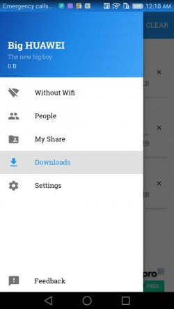 Share on WiFi - Downloads