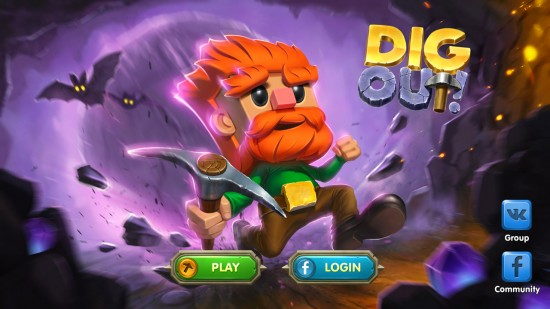 Dig Out – an endless digger how deep can you go!