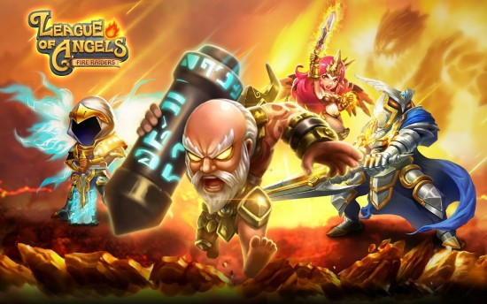League of Angels – Fire Raiders. RPG game of fiery united heroes forges victory!