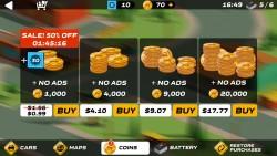 Splash Cars - More Coins