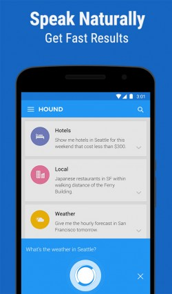 HOUND Voice Search and Assistant 1